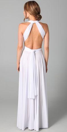 Twobirds Long Convertible Dress $396.00