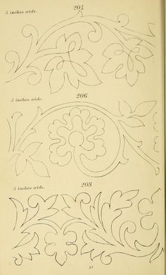 New Embroidery Designs Pattern Templates Transfer Paper Ideas Tambour Embroidery, Embroidery Motifs, Paper Embroidery, Vintage Embroidery, Machine Embroidery, New Embroidery Designs, Applique Designs, Quilting Designs, Stencil Patterns