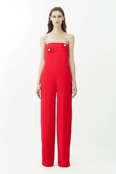 Jump out in red at Christopher Kane