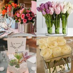 Post do dia: Arranjos florais para festa de casamento 1.