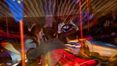 Im Vergnügungspark, Linz, Austria - ©Carambol Nightlife, Austria, Fair Grounds, Concert, Travel, Long Exposure, Night Photography, Linz, Voyage
