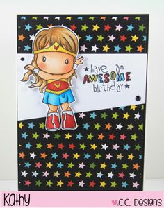 cc designs, super girl