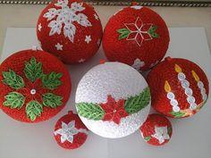 Vánoční ozdoby * quilling
