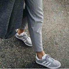 Adidas grey gazzele