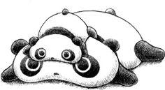 "I just love Tare Panda [aka ""lazy"" panda]. Reminds me of Ellie... ;)"