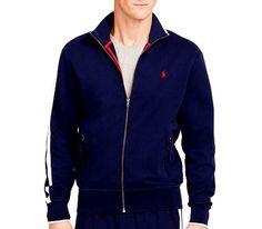 Polo Ralph Lauren interlock track jacket size xxl 100% cotton NEW #PoloRalphLauren #trackjacket