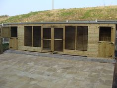 dog kennel designs | Home » dog kennels » double dog kennel and run