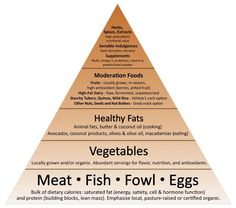 New Primal Blueprint Food Pyramid