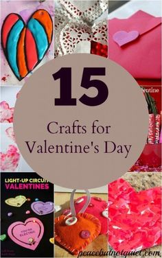 15 fun, adorable crafts to make with kids to celebrate Valentine's Day!