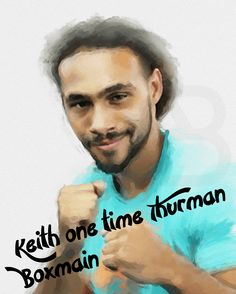 Keith Thurman art