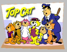 My favorite. Growing up I named one of my cats top cat. We called him TC. 60s Cartoons, Best Cartoons Ever, Old School Cartoons, Classic Cartoons, Cool Cartoons, Cartoon Tv Shows, Cartoon Characters, Funny Cartoon Pictures, Saturday Morning Cartoons