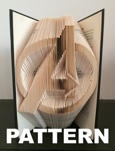 Book Folding Pattern Avengers Logo Free by BookFoldingAustralia
