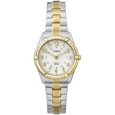 Timex Women's TW2P890009J Easton Avenue Two-Tone Stainless Steel Expansion Band Watch