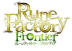 View an image titled 'Logo Art' in our Rune Factory Frontier art gallery featuring official character designs, concept art, and promo pictures. Logo Character, Character Design, Symbol Design, Logo Design, Rune Factory, Game Title, Game Logo, Logos, Runes