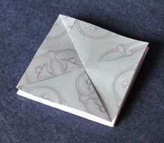 how to make a paper coin purse by Cathryn Miller