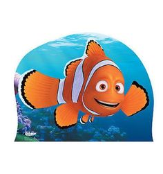 Finding Dory Marlin Clownfish Disney Fish Lifesize Standup Cardboard Cutout 2222