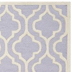 Safavieh Cambridge Collection CAM132C Handmade Lavender and Ivory Wool Area Rug, 6 feet by 9 feet (6′ x 9′) #handmade The Safavieh Cambridge Collection is the perfect blend of class and elegance. These rugs bring traditional sophistication to your home. These rugs feature 100% Premium Wool, hand tufted into elegant designs, perfect for your traditional décor. The varying pile heights will add a spark of interest to these rugs. Each rug has a dense, soft pile, and excellent quality, t..