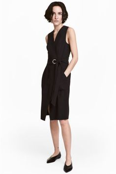 Wrap dress - Black - Ladies | H&M