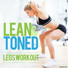 Deadlifts and squats will get you some of the sexiest legs you've ever had. #sexylegs #legsworkout #workout #lean