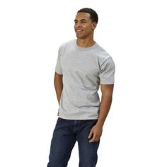 Goodwear Adult Short Sleeve Crew Neck Slim Fit
