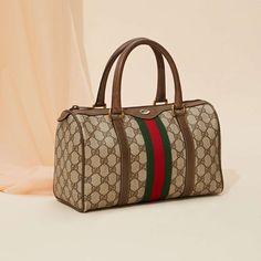 Vintage Gucci Boston Leather Bag