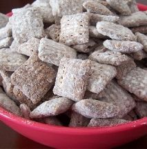 Weight Watchers Puppy Chow aka Chex Muddy Buddies...could it be true?