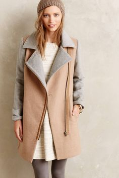 Diplomat Coat - anthropologie.com