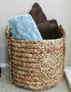 Woven Beachcomber Storage Basket