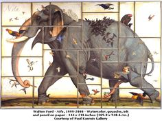 paintings by Edward Walton | Walton Ford, un artista confabulador del siglo XXI