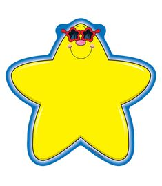 Carson Dellosa Stars Yellow Cut-outs Desk Tags, Teacher Magazine, Star Clipart, Sorting Games, Star Cut Out, Carson Dellosa, Classroom Setting, Cool Names, Cubbies