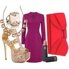 """Valentine's Day Date Night"" by cilooks on Polyvore"