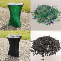 Natürlich können wir auch Recycling... Besten Dank an die Polyserve AG, welche uns für die ersten Versuche Gratismuster zur Verfügung… Planter Pots, Recycling, Vase, Outdoor, Instagram, Home Decor, Give Thanks, Nature, Outdoors