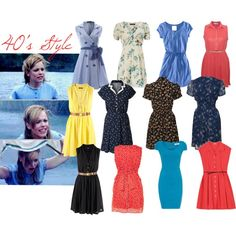 40's: style dresses for Kelly's wedding