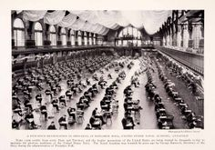 Print of: United States Navy Academy ~ Dahlgren Hall - Annapolis, Md. c.1927.