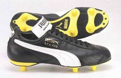 1984 Puma SPA King - the first ever high visibility outsole