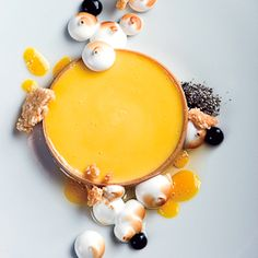 Passion fruit tart, Alex Stupak