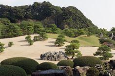 Garden of the Adachi Museum of Art, Matsue/Japan