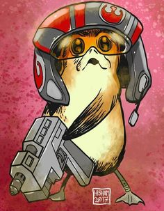 'Porg' Dameron | Star Wars: The Last Jedi