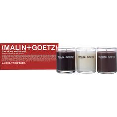 malin and goetz candle set - Google Search