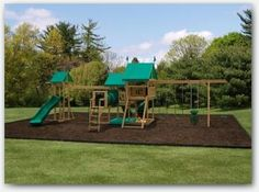 Deluxe Watch Tower Series - Pittsburgh Swing Sets and Amish Lawn Furniture Backyard Swing Sets, Big Backyard, Landscaping Sand, Wood Swing Sets, Lawn Furniture, Amish Country, The Neighbourhood, Tower, Joy