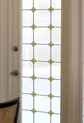 Monterey Sun Privacy Stained Glass Window Film