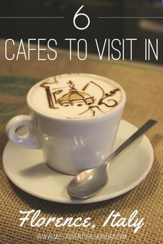 Cafes To Visit In Florence, Italy Florence Tuscany, Tuscany Italy, Italy Italy, Sorrento Italy, Capri Italy, Naples Italy, Florence Cafe, Italy Travel Tips, Rome Travel