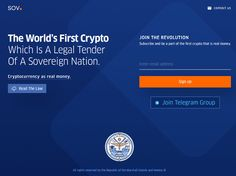 """Marshall Islands makes cryptocurrency legal tender! The new currency is called """"the Sovereign"""" with the symbol """"SOV"""", which will be legal tender alongside the local fiat currency. Get the latest updates by joining the SOV official Telegram group. The Marshall, Legal Tender, Marshall Islands, Co Founder, The Republic, First World, Acting, Join, Blockchain Cryptocurrency"""