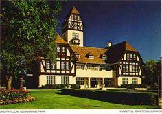 Assiniboine Park Wonderful Places, Pavilion, Places Ive Been, Childhood, Canada, Mansions, Park, House Styles, Travel