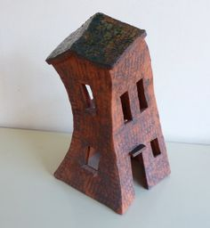 Ceramic House, House of Clay OOAK