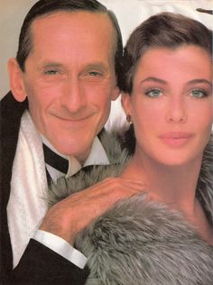 Richard Avedon  One of my favorite Vogue shoots, fet. Kelly La Brock and Andre Gregory