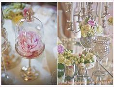 Pink French wedding