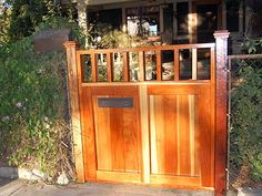 Bungalow Wooden Gate