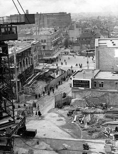 Rebuilding Coventry after the blitz Coventry Blitz, Woolworth Building, The Precinct, Photographs And Memories, The Blitz, City Of Bristol, Old Building, Local History