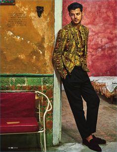 GQ Japan is the latest fashion magazine to take to the streets of Havana, Cuba. Model Felix Bujo travels to the popular destination for the magazine's May Cuba Fashion, Mens Fashion, Latest Fashion, Felix Bujo, Gq, Cuban Men, Cuba Culture, Gypsy Men, Havana Nights